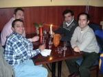 Dinner - Sunil, Reza, Mark, Dave.JPG