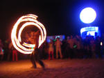 Highlight for Album: Fire Dancers at Opulent Temple