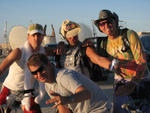 Highlight for Album: Opulent Temple DJ's @ Burning Man 2006