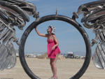 Highlight for Album: Spread Eagle @ Burningman 2008