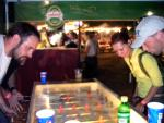 Hungarians love their csocso (cho-cho) aka foosball