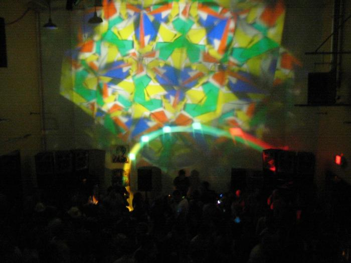 The kaleidoscope light makes a comeback after a little rewiring (and collecting dust in the closet for years)