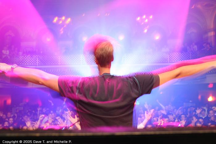 Armin van Buuren in SF @ Ruby Skye - 10/09/05