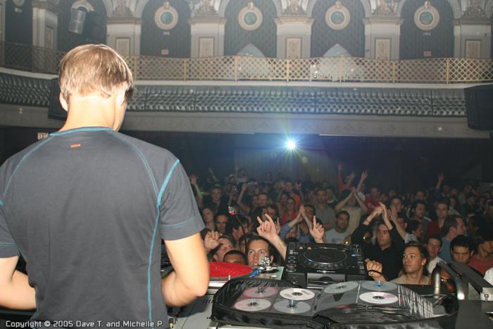 Armin van Buuren in SF @ Ruby Skye - 10/09/05