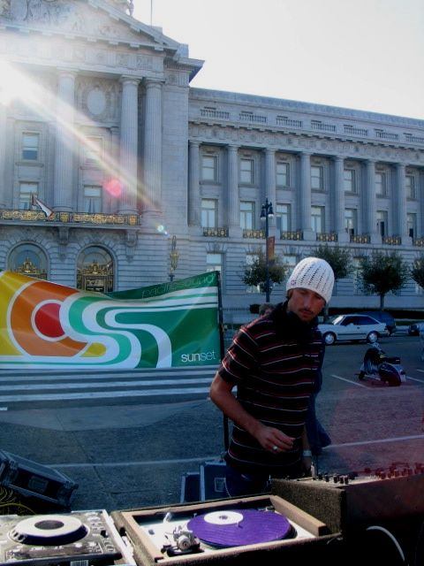 Sunset Rally in SF - 09/19/04