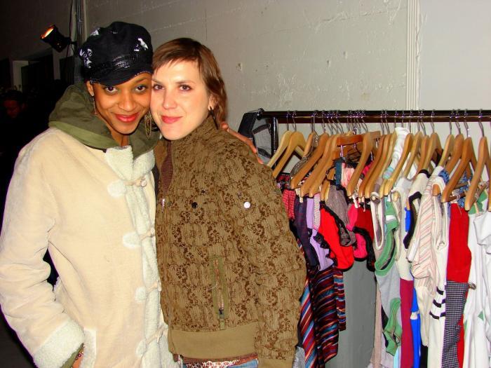 Fatimama and Erica