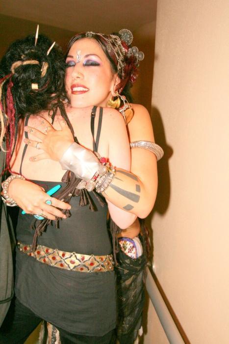 Sharon hugs Rose of UG
