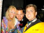 Here is Monique, Tiesto and my brother Syd!  Cute!