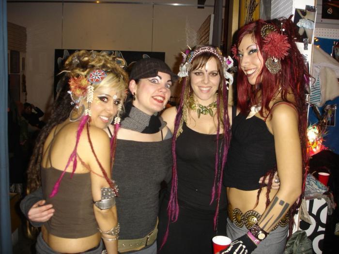 Michelle, Kim Fournier, Marty, Sharon