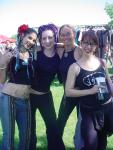 Rachel Brice, Heather of Urban Tribal, Lee and Kristin of Ultra Gypsy