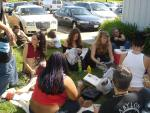 a picnic, proof that bellydancers eat carbs!