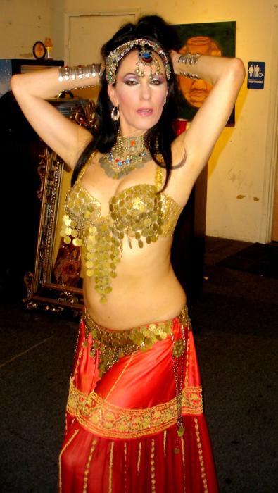 Malia, dancing over 25 years I believe, www.bellydancer.net