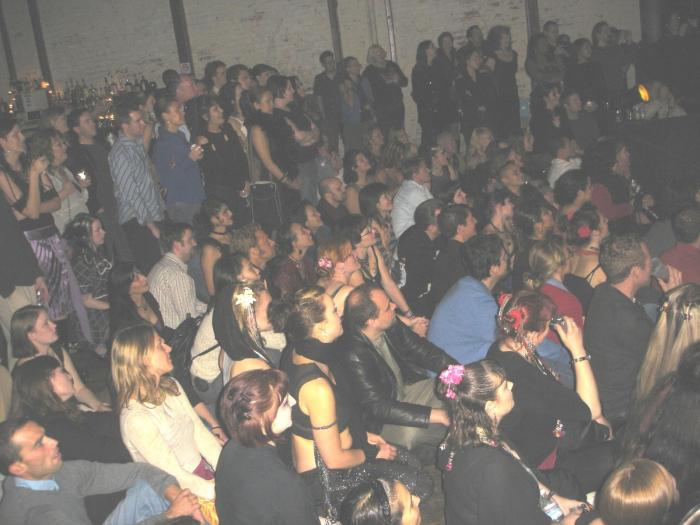 the crowd, or part of