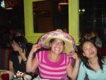 Jen w/ her Birthday Sombrero