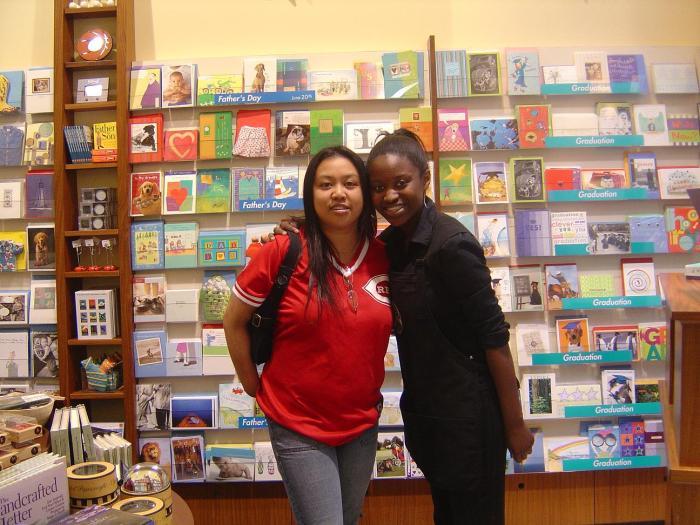 Me & Shamiyah @ work