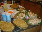 the food all ready to go