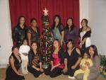 the ladiez by our lovely tree