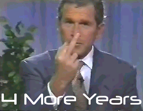 Message from George W. Bush