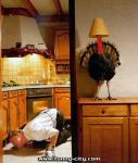 Where is that damn turkey?