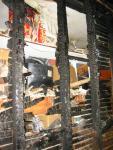 Back Wall of Closet (with belongings still inside)