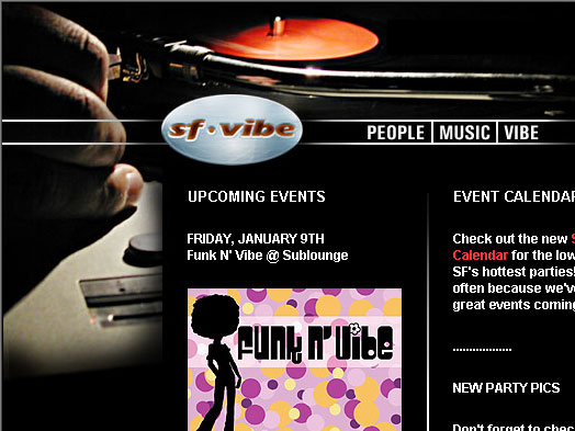 Sf-Vibe ... People ... Music ... Vibe ...