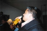 Cesars first drink after a long break of being Sober!  Its all the Giants fault right Ces??