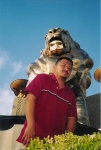 Lil Ceas in front of MGM
