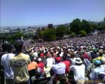 World Cup Finals in San Francisco (Italy vs. France) @ Delores Park