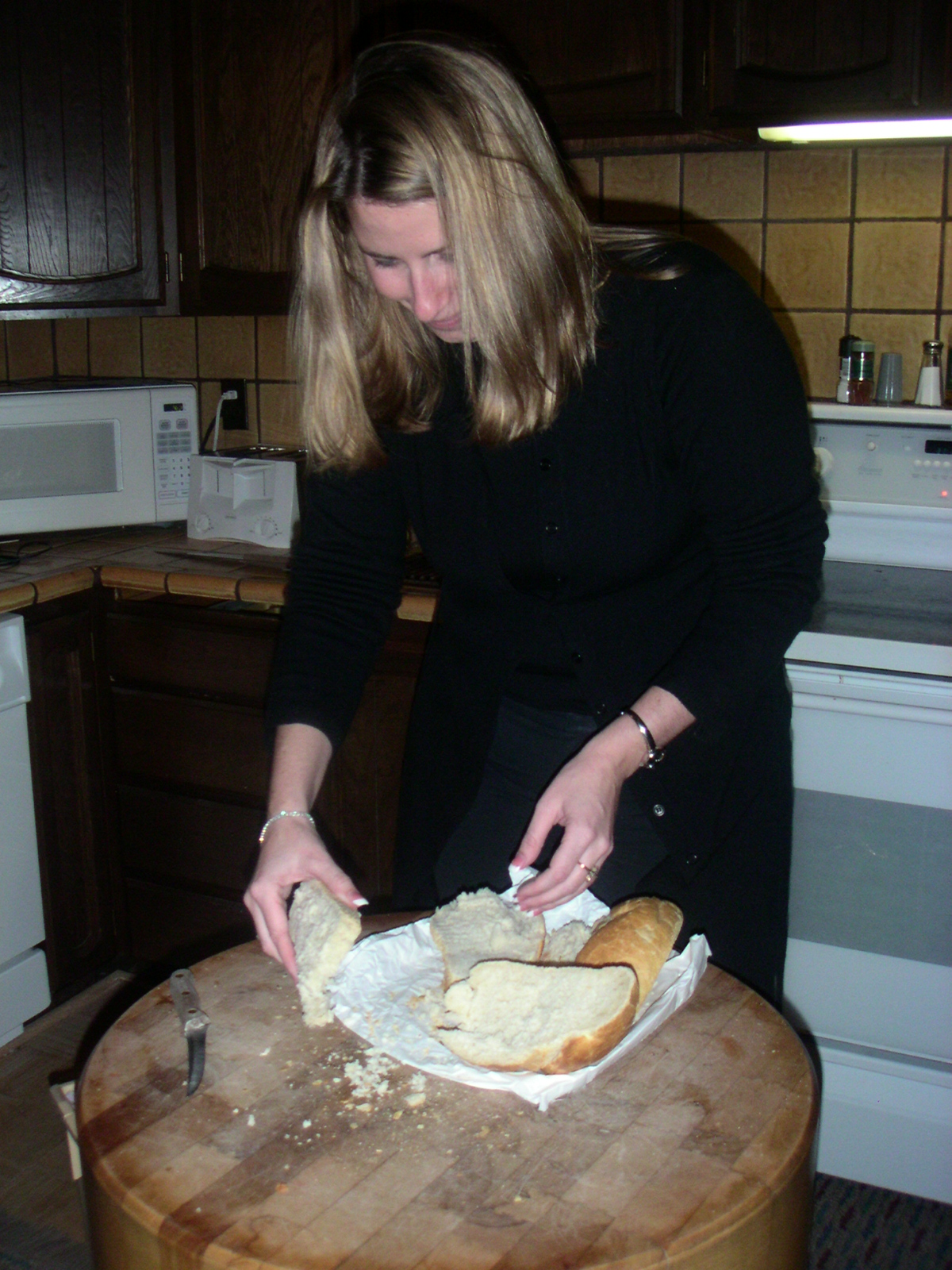 """Jen cooking; or; """"I think I'm buzzed"""""""