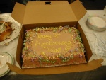 Trigo bday cake