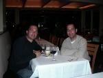 Frank and mark dinner