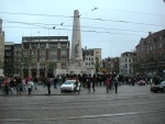 Amsterdam - protest against Iraq - Oct 2002